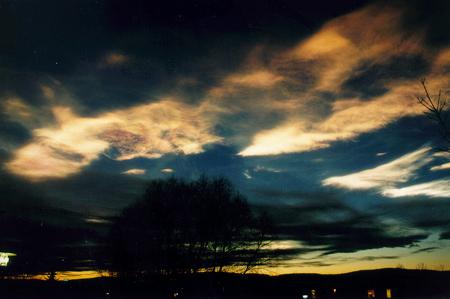 Perleťový oblak