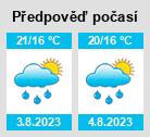 Počasí / Weather / Wetter