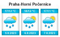 Počasí Praha-Horní Počernice - Slunečno.cz