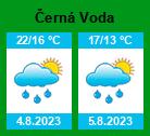 Počasí Černá Voda - Slunečno.cz
