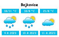 Počasí Bojkovice