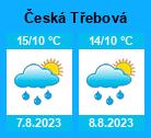 Počasí Česká Třebová - Slunečno.cz