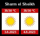 Počasí Sharm el Sheikh - Slunečno.cz