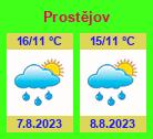 Počasí Prostějov - Slunečno.cz