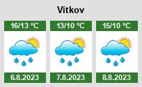 Počasí Vítkov - Slunečno.cz