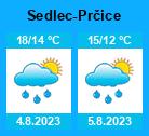 Počasí Sedlec-Prčice - Slunečno.cz