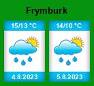 Počasí Frymburk (okres Český Krumlov) - Slunečno.cz