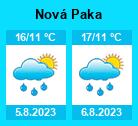 Počasí Nová Paka - Slunečno.cz