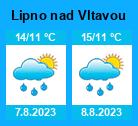 Počasí Lipno nad Vltavou - Slunečno.cz