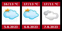 Počasí Vamberk - Slunečno.cz