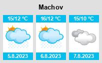 Počasí Machov - Slunečno.cz