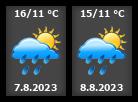 Počasí Heřmanův Městec - Slunečno.cz
