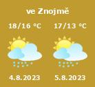 Počasí Znojmo - Slunečno.cz