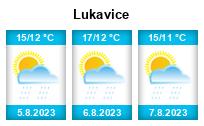 Počasí Lukavice - Slunečno.cz