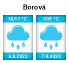 Počasí Borová (okres Svitavy) - Slunečno.cz