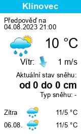 Počasí Kraslice - Slunečno.cz