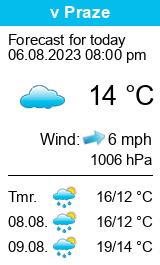 Pogoda w Valticach