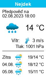 Počasí Nejdek - Slunečno.cz