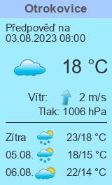 Počasí Otrokovice - Slunečno.cz