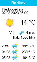 Po�as� Radkov (okres Opava) - Slune�no.cz