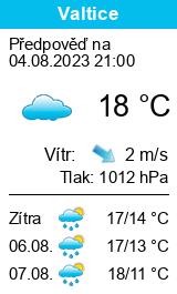 Po�as� Valtice - Slune�no.cz