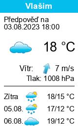 Po�as� Vla�im - Slune�no.cz