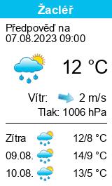 Počasí Žacléř - Slunečno.cz