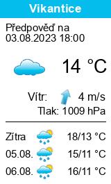 Počasí Vikantice - Slunečno.cz