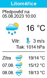 Počasí Litoměřice - Slunečno.cz