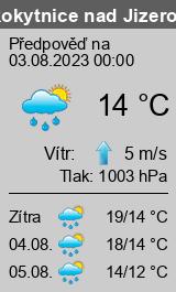 Počasí Rokytnice nad Jizerou - Slunečno.cz