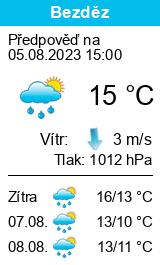 Počasí Bezděz - Slunečno.cz