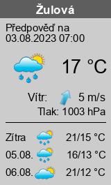 Počasí Žulová - Slunečno.cz