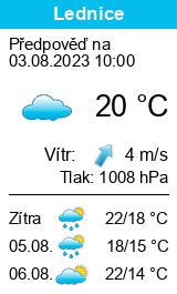 Lednice na Morav� - Po�as� - Slune�no.cz
