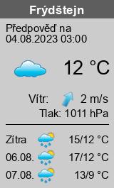 Počasí Frýdštejn - Slunečno.cz