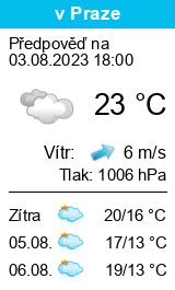 Počasí Krásná Lípa - Slunečno.cz