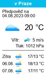 Počasí Bělá u Jevíčka - Slunečno.cz