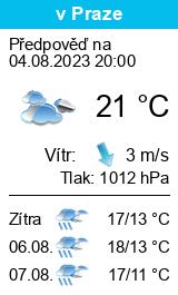 Počasí Černá v Pošumaví - Slunečno.cz