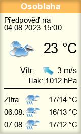 Počasí Osoblaha - Slunečno.cz
