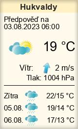 Počasí Hukvaldy - Slunečno.cz