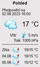 Počasí Pohled - Slunečno.cz