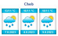 Počasí Cheb - Slunečno.cz