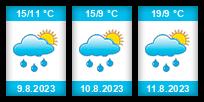 Výhled počasí pro místo Rochov na Slunečno.cz