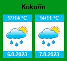 Počasí Kokořín - Slunečno.cz