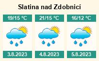 Počasí Slatina nad Zdobnicí - Slunečno.cz