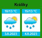 Počasí Králíky  - Slunečno.cz
