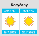 Počasí Koryčany - Slunečno.cz