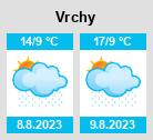 Počasí Vrchy - Slunečno.cz