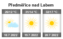 Počasí Předměřice nad Labem - Slunečno.cz
