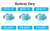 Počasí Karlovy Vary - Slunečno.cz
