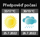 Předpověď počasí